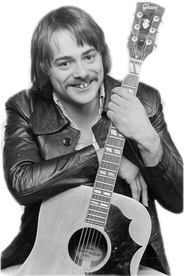 "Dave Keir with Gibson ""œCountry & Western\"" guitar , London, c. 1975"